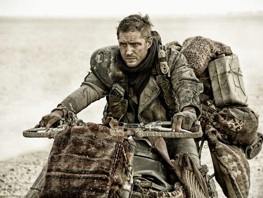 """Tom Hardy as Max Rockatansky in a scene from """"""""Mad"""