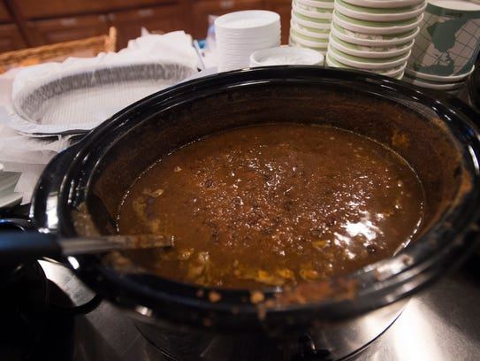 Roasted tomato and black bean soup from The Owego Kitchen.