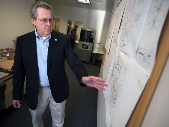 Tom Boyer, Innovation's vice president for operations,