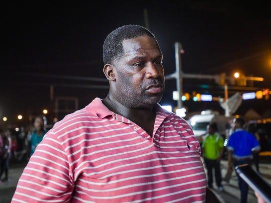 Calvin Brasley, local playwright who grew up in neighborhood