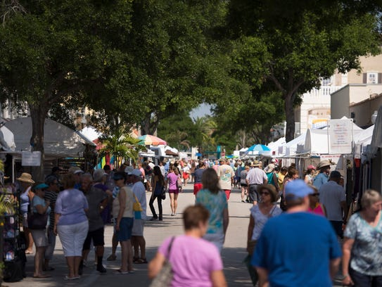 The Downtown Stuart Craft Festival is Oct. 15-16 in