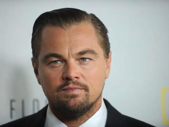 Leonardo Dicaprio attends the premiere of National