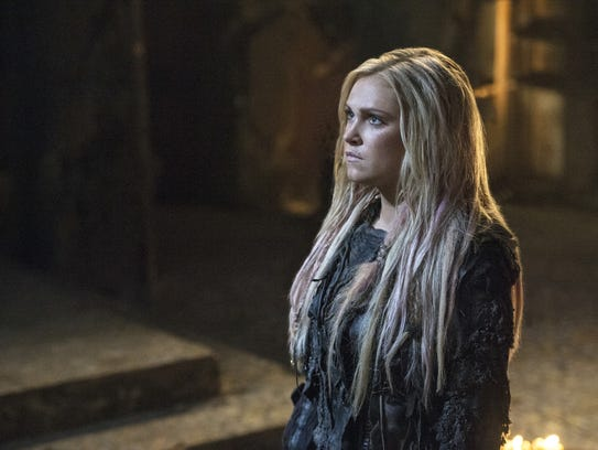 Eliza Taylor plays Clarke on CW's 'The 100,' which