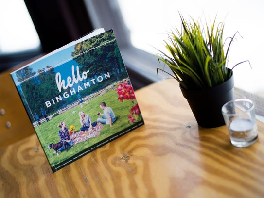 "A ""hello Binghamton"" guide book has been introduced"