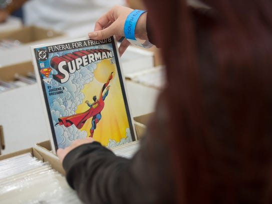 Collector's Comic Con is Saturday at the St. Lucie Shrine Club at in Fort Pierce.
