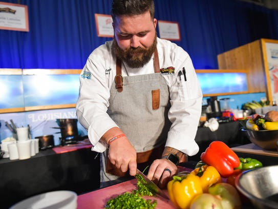 Dustie Latiolais will be a special guest of Wine & Swine in Shreveport.