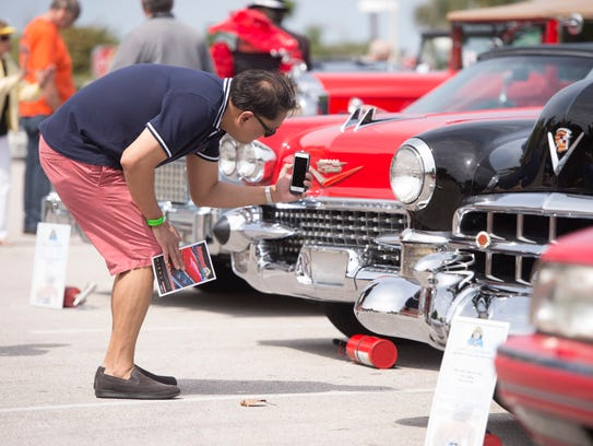 Classic car shows are popular with Treasure Coast residents.