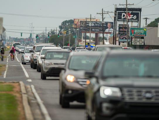 Heavy traffic puts eyeballs on businesses, developers say.