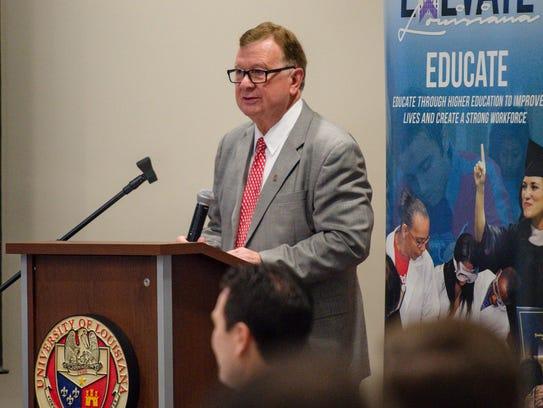 Dr. Joseph Savoie, President- University of Louisiana