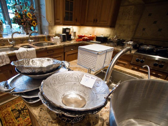 Kitchen items that will be sold at the Krampe Estate Sale on Nov. 17-18.