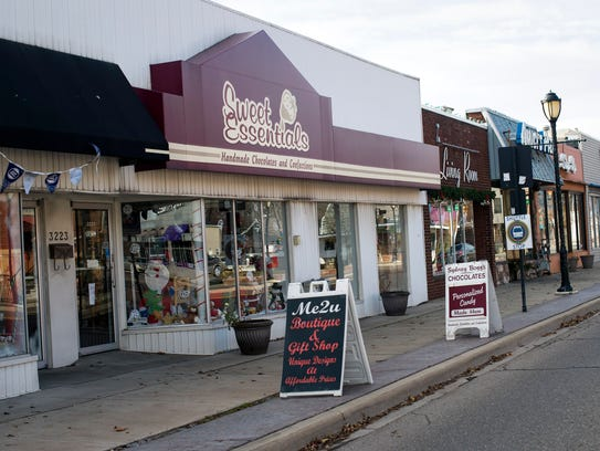 The exterior of Sydney Bogg's Sweet Essentials is seen