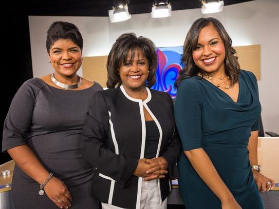 Marcelle Fontenot, Jazmin Thibodeaux, and Darla Montgomery,