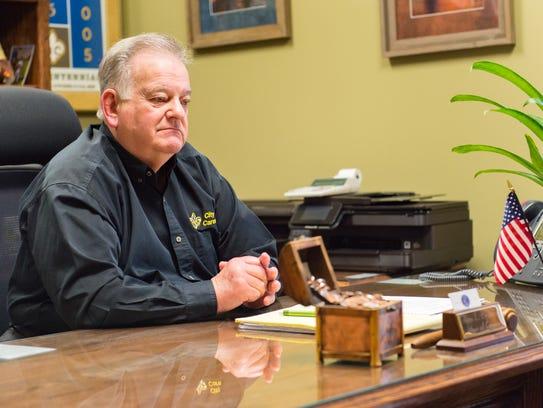 Glenn Brasseaux, Mayor of the City of Carencro. Monday,