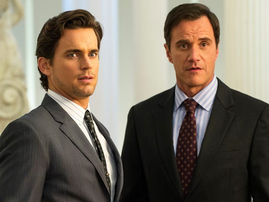 Matt Bomer, left, and Tim DeKay starred in USA Network's