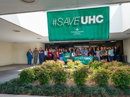 UHC staff members. Monday, April 30, 2018.