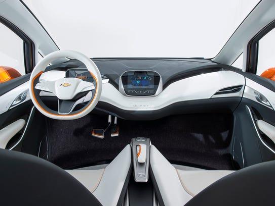 2015 Chevrolet Bolt EV Concept all electric vehicle