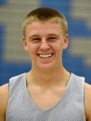 Cedar Crest boys basketball sophomore Logan Horn.