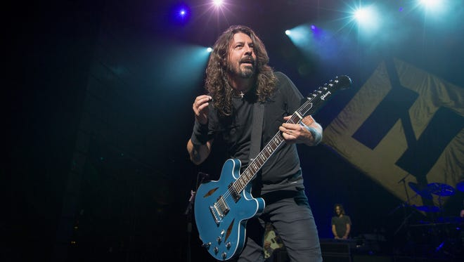 Dave Grohl will perform with Foo Fighters July 24 at Ruoff Home Mortgage Music Center.