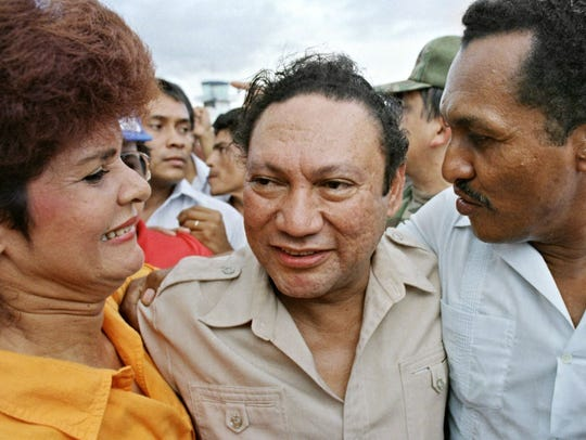 Former Panamian military strong man General Manuel