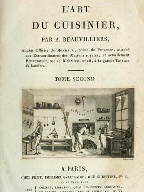 """Antoine Beauvilliers wrote in detail about creating successful soufflés in his 1814 book, """"The Art of the Cook."""""""