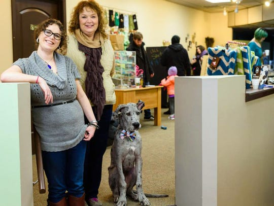 Ali and Laurie Koestner are co-owners of the DePawsitory