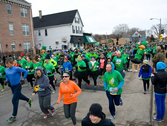 Leff's also hosts the Lucky Leprechaun 7k in March