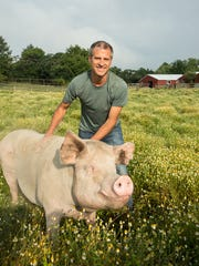 Gene Baur, president and co-founder of Farm Sanctuary, will be in New Jersey this weekend.