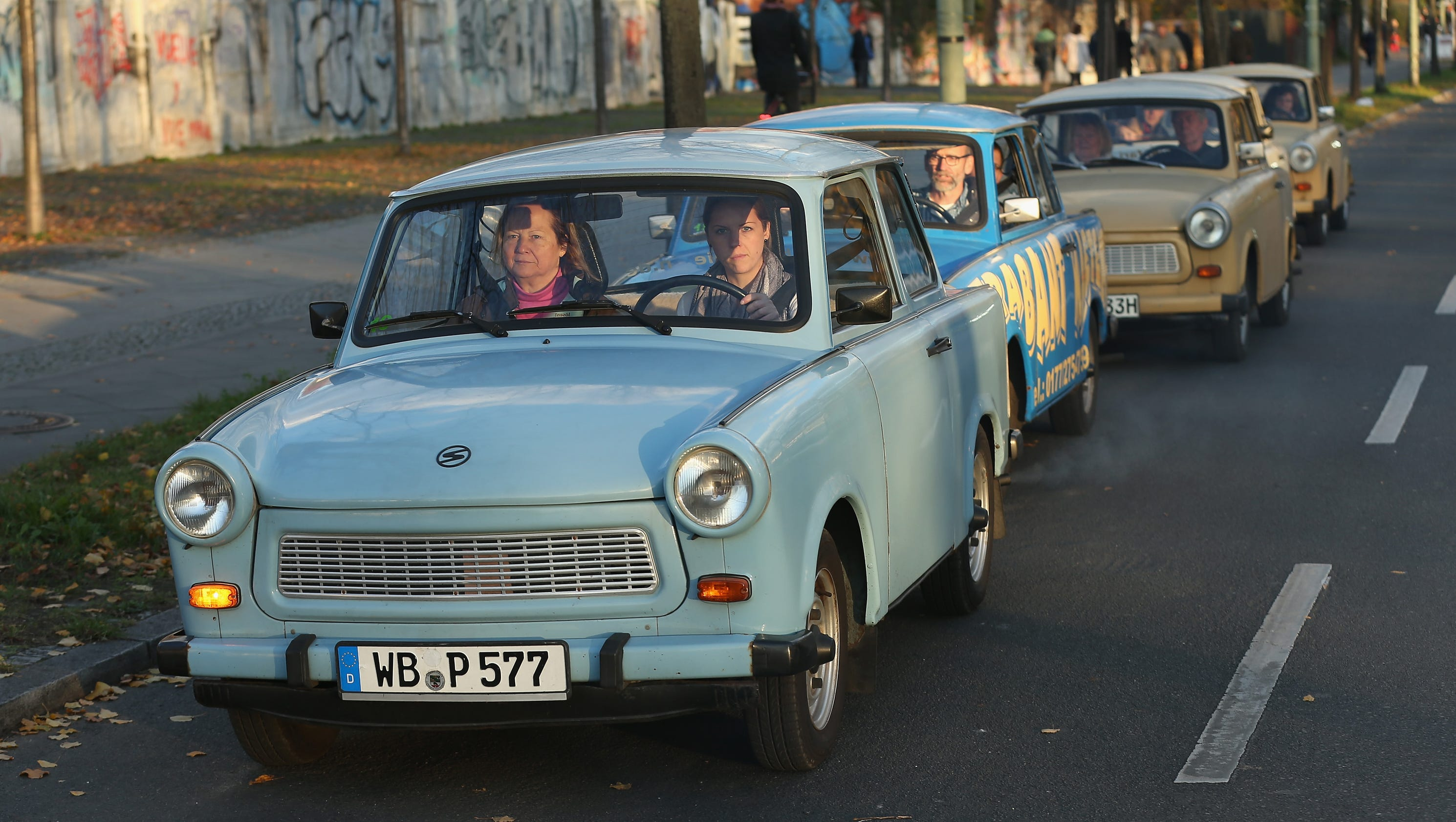 The unique East German Trabant car celebrates 60 years