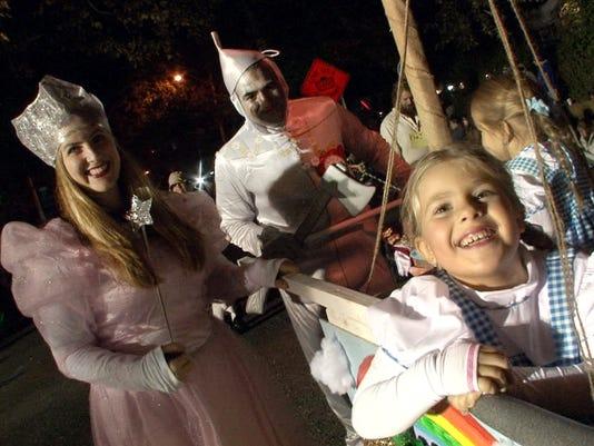 ASB 1101 TR Halloween Parade