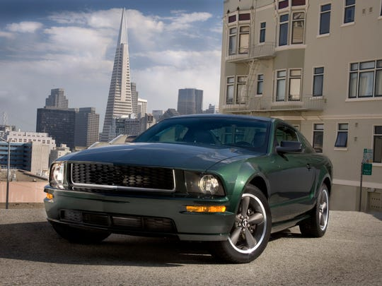 "2008 Mustang ""Bullitt"" special edition -- recalling the 1960s movie and famous Steve McQueen chase scene on the hills of San Francisco."
