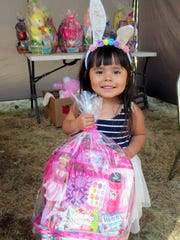 Ruidoso Parks and Recreation officials have postponed the annual Easter Egg Hunt planned for April 11, at Cedar Creek. This little bunny participated last year.