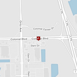 The Fort Myers Police Department is on the scene of a single vehicle crash on Colonial Boulevard and Rolfes Road, just west of Ortiz Avenue.