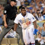 Yasiel Puig avoided a tag with the most Puig-like slide you will ever see