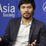 Manny Pacquiao could return to the ring, this time fighting for the Philippines in the Rio Games.