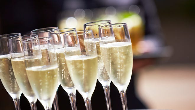Champagne toasts are included with many of the New Year's Eve packages available around town.