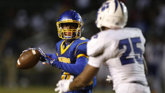 Rickards QB Marcus Riley accounted for 556 yards of offense and seven TDs in a 49-42 win over Godby last week. The Raiders close out their regular season tonight.