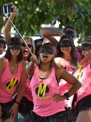 RTO Team Las Mamacitas take a selfie at 12th Annual Reno-Tahoe Odyssey at Wingfield Park on June 3, 2016.