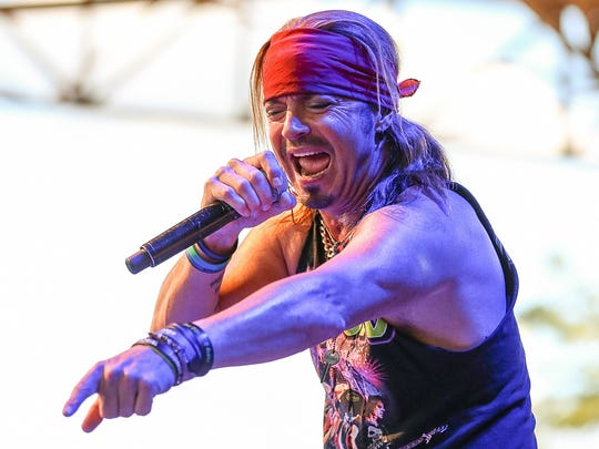 Bret Michaels will perform March 22 at Prairie Meadows in Altoona.