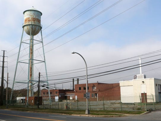The former Playtex plant on North DuPont Highway and