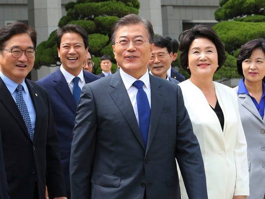 South Korea Moon Jae-in Profile Picture