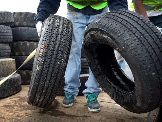 Greene Township is accepting tires from township residents