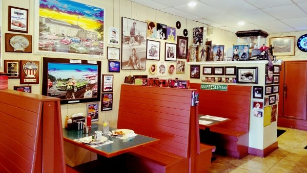 Old Dixie Cafe North in Hobe Sound is basically a museum with a menu. Everywhere you look is reminiscent of yesteryear.
