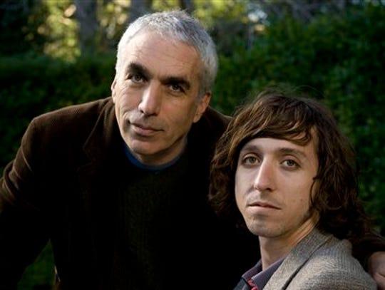 David Sheff, left, and son Nic Sheff.