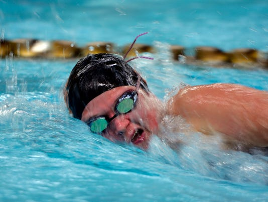 York Suburban vs Red Lion swimming