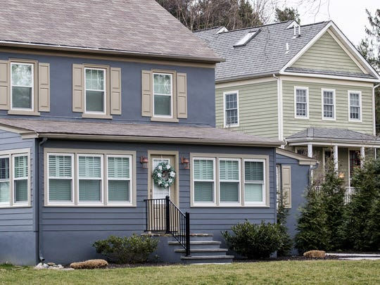 Bijin Delaware, a medical spa in a home off Kennett Pike in Centreville pictured on the right has been embroiled in an ongoing feud with the neighbor who lives in the home to the left.
