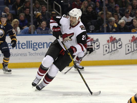 NHL: Arizona Coyotes at Buffalo Sabres