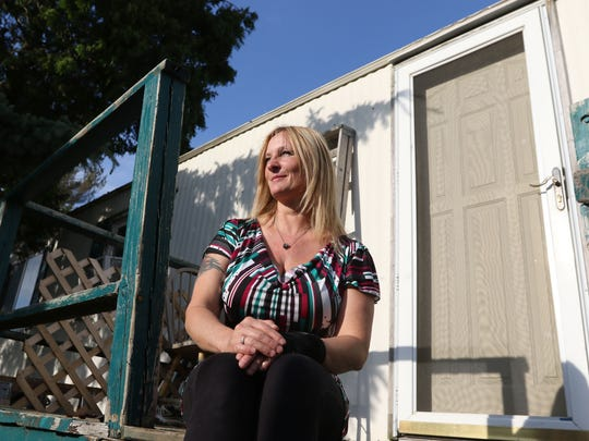 Michelle Balogh, a resident of Stillwater Landing, paid thousands to buy a new trailer for her mother, who is elderly and needs assistance. Then they were alerted the transmission line would be going through the property. Only months after they bought the trailer to avoid moving in the harsh Wisconsin winter did the company alert them that they had made a mistake, and the property was not affected.