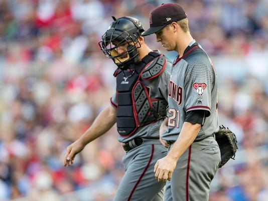 MLB: Arizona Diamondbacks at Minnesota Twins