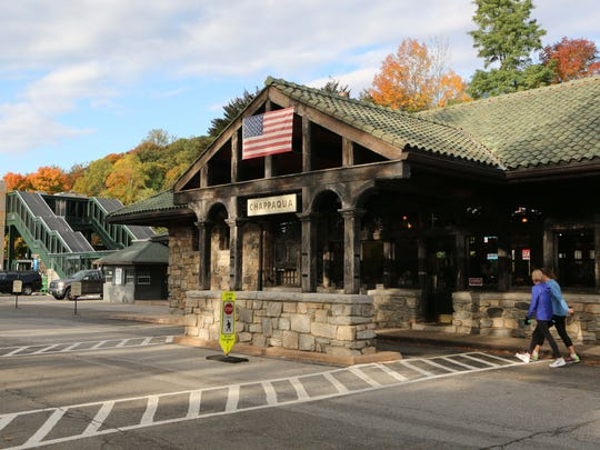 The Chappaqua train station, where Chappaqua Station has provided food service for several years.