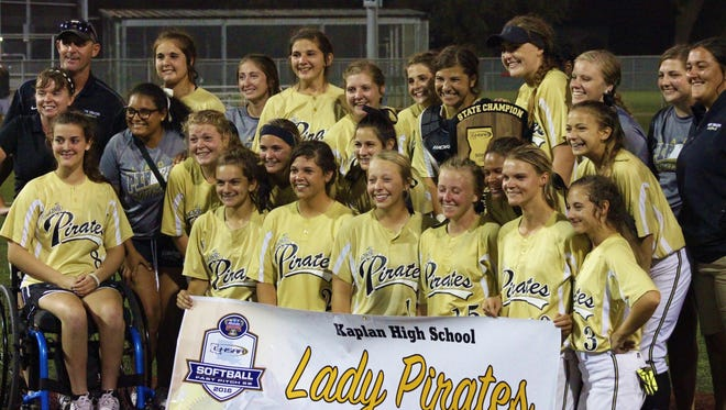 After dominating Parkview Baptist earlier Saturday, Kaplan faced a feisty Lutcher squad, eventually breaking through in the sixth inning to win the Class 3A state championship 4-0 in a game that didn't begin until 11:15 p.m.